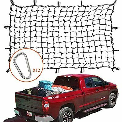 Truck Cargo Net Holds Large Load For Pickup SUV Trunk Trailer ABS Plastic Hooks