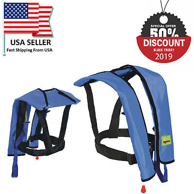 Black Friday Sale Automatic/Manual Inflatable Life Jacket Vest Inflatable PFD