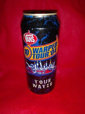 2004 Monster Water Warped Tour Can Unopened