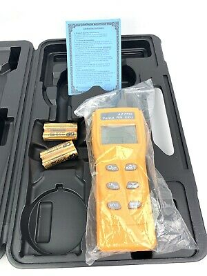 AZ7755 CO2 Gas Detector With Temperature And Humidity Test