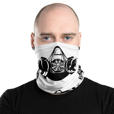 99+ Face Mask Neck Gaiter Shemagh Mouth & Nose Cover - 'Respirator'