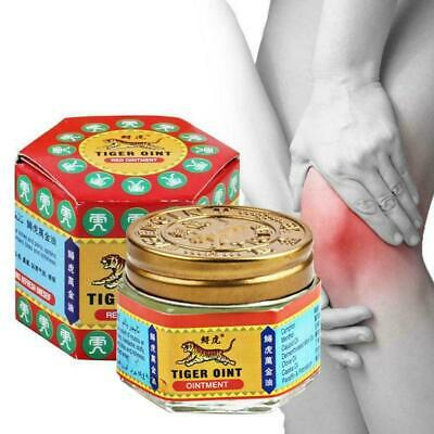 60g Original TIGER Red White Balm Thai Ointment Relief Pain Muscle Ache P3Z2