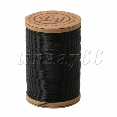 0.55mm Linen Waxed Thread Round Cord Sewing Craft for Leather Caft Stitching