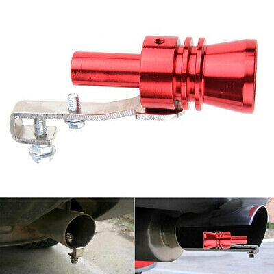 1*Blow Off Valve Noise Turbo Sound Whistle Simulator Muffler Tip Car Accessories
