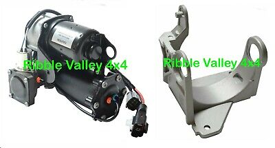 Range Rover Sport Hitatchi Air Suspension Compressor & Mounting Bracket Lr023964