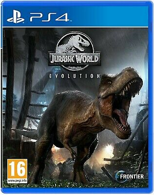 Jurassic World Evolution PS4 PlayStation 4 Video Game Mint Condition UK Release