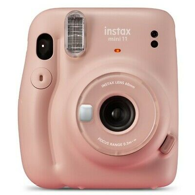 Fujifilm Instax Mini 11 Blush Pink Instant Camera