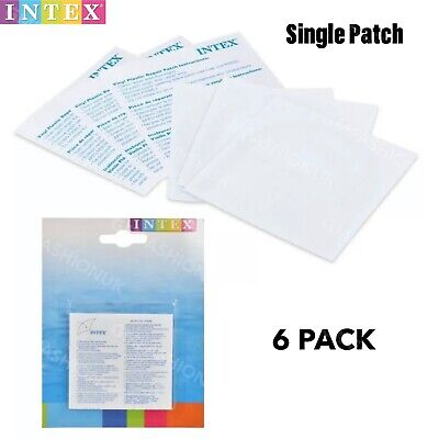 Intex Inflatables Paddling Pool Repair Kit Patches Hot Tub Pool Swimming Airbeds