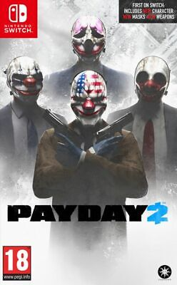 Payday 2 (Nintendo Switch) Brand New & Sealed UK PAL Quick Dispatch