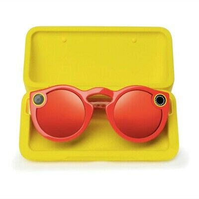 Snap Inc. Spectacles Snapchat Camera Sunglasses - Coral -Brand New!!!