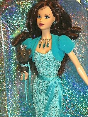 Birthstone Beauties Miss December Miss Turquoise Mint Doll,Dog & Fashion 2007