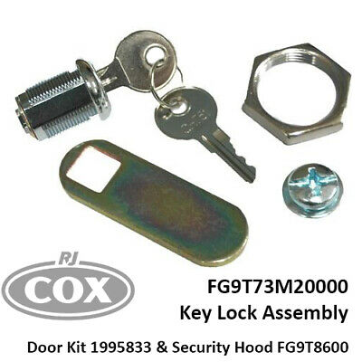 Rubbermaid Replacement Lock and Keys for Janitor Cleaning Carts FG9T73M20000