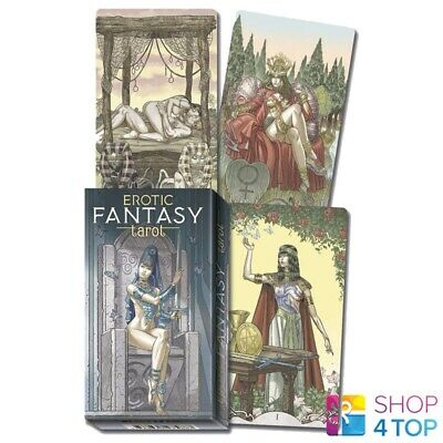 Erotic Fantasy Tarot Cards Deck Esoteric Fortune Telling Lo Scarabeo New