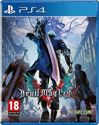 Devil May Cry 5 PS4 PlayStation 4 Video Game Mint Condition UK Release