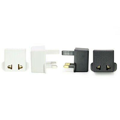 3 Pin Plug Visitor Travel Power Adaptor Converter For Usa Eu Us To Uk Plug