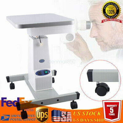 Lifting Optical Eyeglass Motorized Instrument Electric Power Work Table 110V US