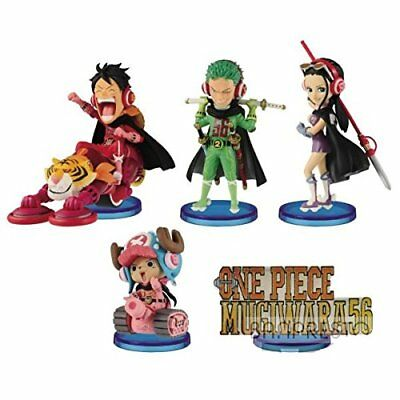 One Piece World Collectable Figure MUGIWARA 56 all 5 set Luffy Zoro JAPAN