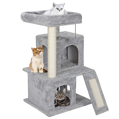 """Cat Tree Tower 34"""" STURDY Activity Center Large Playing House Condo For Rest & S"""