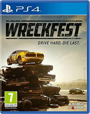 Wreckfest PS4 PlayStation 4 Video Game Mint Condition UK Release