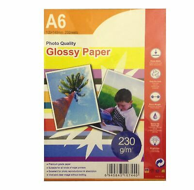 20 Sheets A4 200gsm High Glossy Photo Paper for Inkjet Printers