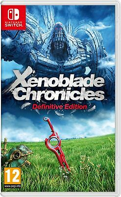 Xenoblade Chronicles Definitive Edition(Switch) In Stock Now Brand New & Sealed