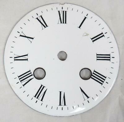 Enamel Clock Dial French Clock Dial Roman Numerals For French Mantel Clock c1870