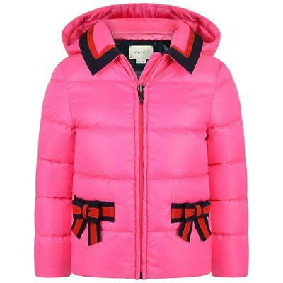Gucci Kids Girls Down Padded Jacket 5 Years