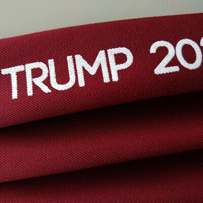 Face Mask Trump 2020 Washable Made in USA MAGA Dark Red Ready to Ship