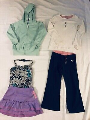 Joblot Girls Clothes age 5-6 Years River Island Bather Next Joggers,Top, Hoodie