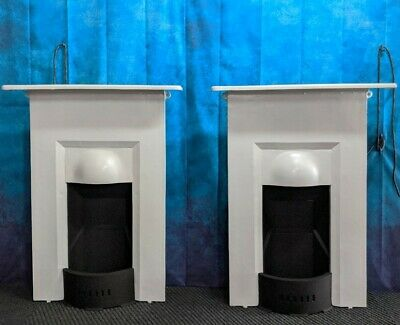 Pair Complete Victorian fireplaces  DELIVERY FREE OR most £35 Uk