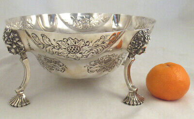 1886 English Sterling Footed Bowl Aldwinckle and Slater