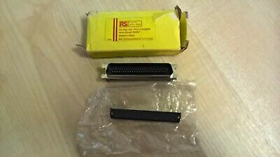 50 way IDC Plug Complete with Strain Relief Radio Spares RS 473-852
