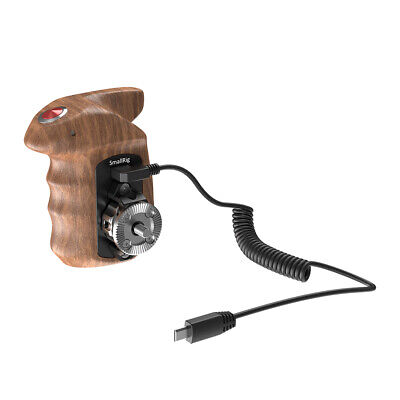 SmallRig Right Side Wooden Remote Trigger Hand Grip for Sony Mirrorless Cameras