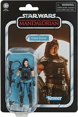 Star Wars Vintage Collection The Mandalorian Cara Dune 3 3/4 Inch Action Figure