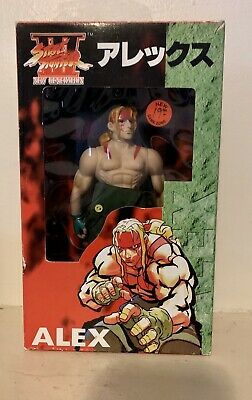 Rare Street Fighter 3 Alex Action Figure Japanese