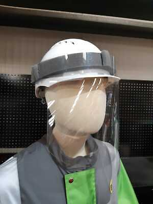 Face Visor, Perfect for Construction Workers, Fits Hardhats