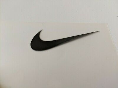 Nike iron on swoosh logo unofficial various colours and sizes