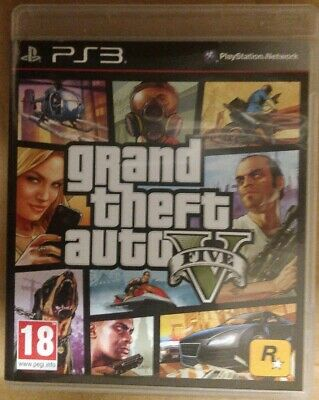 Grand Theft Auto V GTA 5 Playstation PS3 NEW