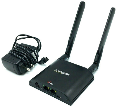 Cradlepoint IBR650E-VZ Compact Cellular Router Modem 3G EVDO Verizon (w/Adapter)