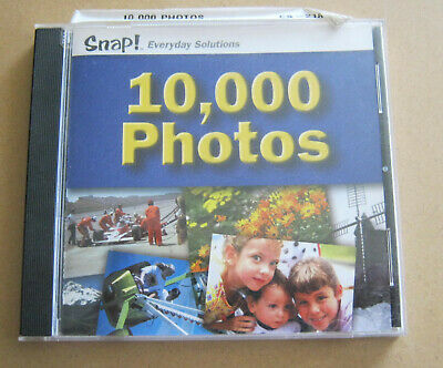 Snap 10000 Stock Photos CD JPEG 2002 Topics Entertainment