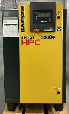 HPC / Kaeser SM12T Rotary Screw Compressor With Dryer! 7.5Kw, 36Cfm Immaculate!