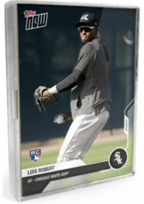 2020 MLB TOPPS NOW Road to Opening Day Chicago White Sox 15-Card Team Set Robert