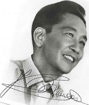 Ferdinand Marcos Signed Photo Circa 1972 / Phillipine President Autographed