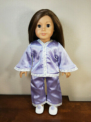 Authentic American Girl Doll Clothes 18 Inches Nellie's Pajamas Outfit