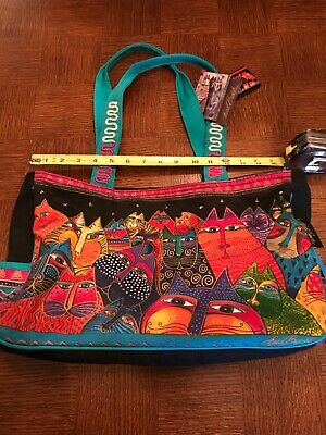 New with tags Laurel Burch Cat Tote/Purse