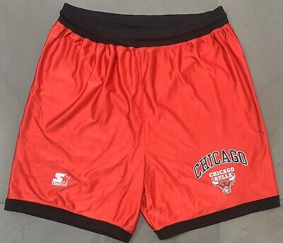 Authentic Vintage Starter Chicago Bulls '90s Basketball Shorts. Size L, Exc Cond