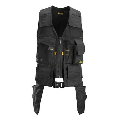 Snickers AllroundWork Toolvest 4250 Black Medium Large New!