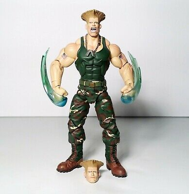 Street Fighter SOTA Toys Guile Action Figure Capcom