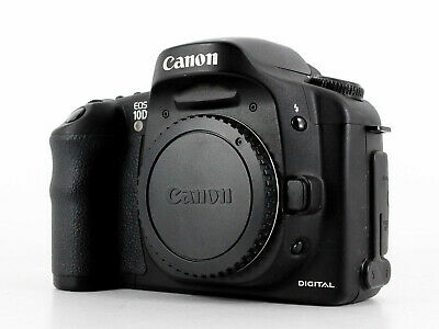 Canon EOS 10D 6.3MP Digital SLR Camera (Body Only)
