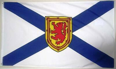 Nova Scotia Banner/Flag 100% Polyester Premium With Metal Grommets